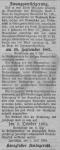 Actes/Posen/Jarotschin/1882-07-12 Z Zwangsversteigerung Grundstueck Wojciech RAUHUT aus Pleschener Kreisblatt.jpg